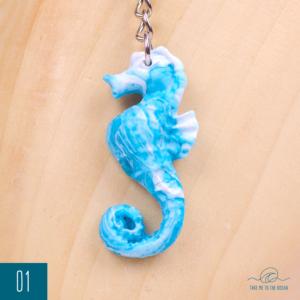 Seahorse keychain