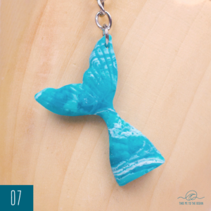 Mermaid Tail keychain