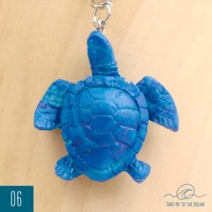 Sea turtle keychain 02