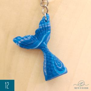 Mermaid tail keychain 12