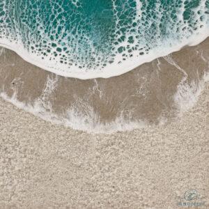 Resin ocean art sandy beach take me to the ocean